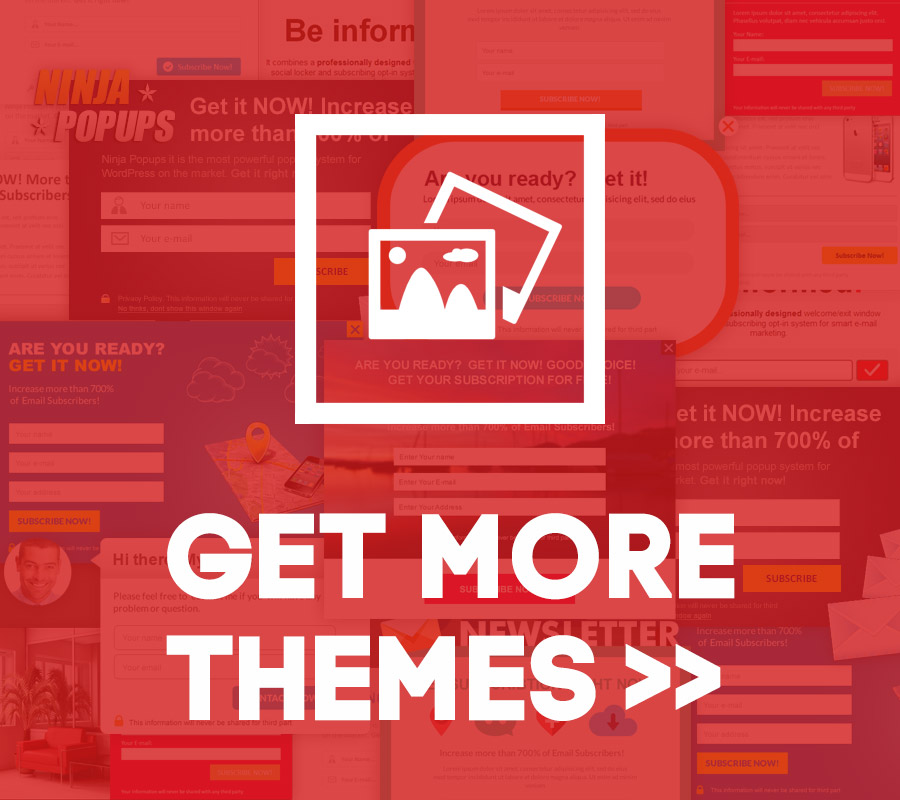 Get more popup themes