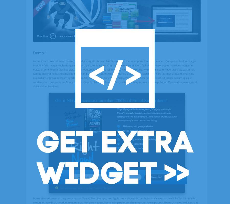 Get Extra Widget